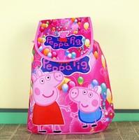 Peppa pig children shoulder bag, Pepe swine versatile backpack, cartoon bag