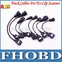 Full Set 8pcs Truck Cables Diagnostic Interface for Tcs Cdp Pro Plus