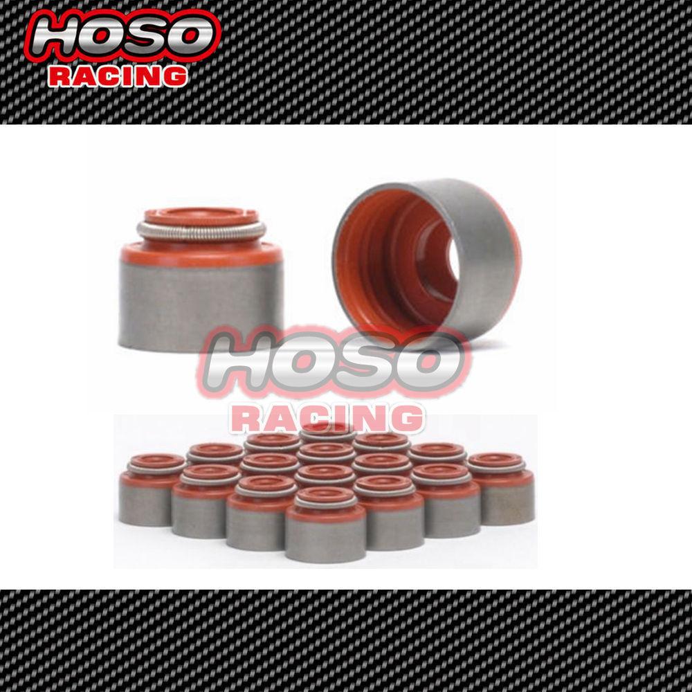 HOSO RACING VITON VALVE STEM SEAL KIT FOR HONDA ACURA B D F K VTEC ENGINE