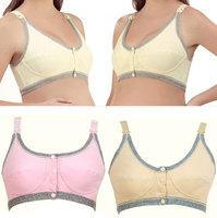 Beautiful Pregnant Gravida Women Maternity Underwear Elasticity Open Button Useful Nursing Bra Free Shipping