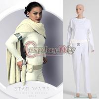 Custom Made  Star Wars Padme Costume Adult Movie Cosplay Costume For Halloween