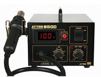 Authorized agent ,220V Hot air SMD soldering station ATTEN AT850D with Digital Display , Anti-static