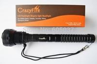 CrazyFire 15 Cree XM-L U2 18000 Lumens High Power LED Flashlight Torch For Camp Climb Hike Fishing Tactical Combat Hunting