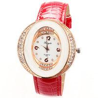 Wrist Watch For Women Rhinestone Watches reloj de piel Watch Luxury ladies dress watches PU leather Free Shipping drop shipping