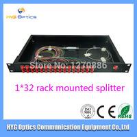 New product rack mounted type 1*32 PLC fiber optic splitter coupler