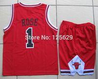 Hot 4 Styles Kid's Childrens Boys Girl's Basketball Jersey Suits Clothing Set Basketball Vest Shirt + Shorts Sport Jerseys