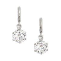 AAA+ 18K Platinum Gold Plated CZ Cubic Zircon Earrings for Women CZ Stones Christmas Gift CTE009