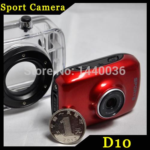 3pcs/lot Cheap Sport camera HD 720P camera Helmet Waterproof Action Camera DVR Camcorder For Bike/Diving/Surfing/Ski/Skydiving(China (Mainland))