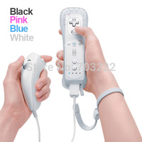 High Quality Remote & Nunchuk Combo Controller for Nintendo Wii Wii U Free shipping