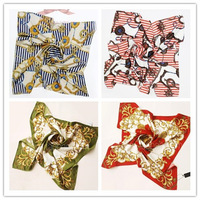 Free shipping multi-function silk scarf