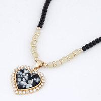 2014 Free Shipping Fashion Korean Retro Barbie Long Pendant Necklace For Women Sweater Chain fashion jewelry