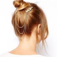 Gem Crystal Hair Comb Hair Jewelry Hair Accessories Head Chain Hairpins Head Jewelry CF088 coupon