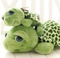 20cm Wholesale Love apartment lovely big eyes small turtle tortoise doll plush toys Birthday Christmas gift free shipping,X956