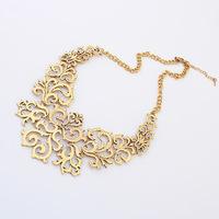 Vintage Retro Women's Stylish Cutout Necklace Statement Necklace Fashion Necklaces for Women CX189 coupon