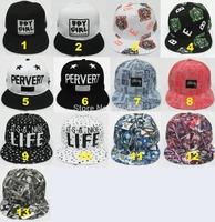 NEW boy girl cap snapback hat basketball cap hi-pop cap baseball cap female and male hat cap