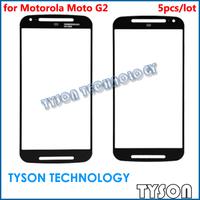 Front Glass for Motorola Moto G2 XT1063 XT1068 XT1069 5pcs/lot Free Shipping
