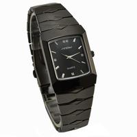 Hot Sale Black Tungsten Steel Strap Sinobi Watch for Men and Women Fashion Japanese-Quartz Movement  Wristwatch 9442