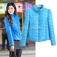 Wadded jacket outerwear female winter women's 2014 design short cotton-padded jacket slim cotton-padded jacket