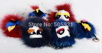 Popular Real Fur Monster Pendant