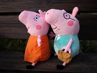 Peppa Pig Plush Doll Stuffed Classic Toys Toy Daddy & Mummy size 30cm