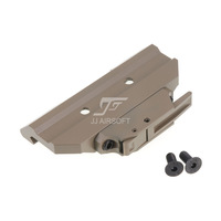 JJ Airsoft AC12033 Quick Release / QD Mount for ACOG 4x32 Scope / Red Dot (Tan)