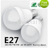 100 X3W/5W/7W/9W LED bulbs 300LM E27 E14 B22 led lamp USA Seller 3 years warranty 5730 5630 led lights led Globe lights