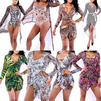 2014 Vestido Saidas De Moda Praia Colorful Full Sleeve Beach Cover Ups Sheath Bodycon Pareo Women Tunic Swimsuit Bathing Suit