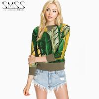 SMSS autumn new arrival o-neck maripa long-sleeve pullover sweatshirt