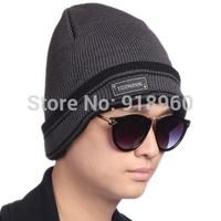 Korean design winter knitted beanies mens beanie hat,new classic warm knit hat outdoor recreation fashion head cap,CFL