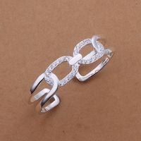 Free Shipping Fashion 925 Silver Fashion Bangle Bracelet for Women Jewelry Factory Price SMTB183