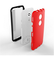 New 2 in 1 (PET Protective screen film + PC Back cover)  Phone Case Guard Cover For Moto X2 X+1 XT1097(2014) Mobile Phone, XB-XL