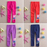 Baby Girls Pants Boys Trousers Peppa Pig Cartoon Children Clothes Kids Clothing Leggings Fantasia Infantil Winter Jeans 2-6Year