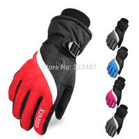 2014 Winter Warm Cycling Gloves men Black Thermal Below Zero mountain bike luvas motorcycle glvoes waterproof Windstopper