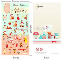 Kawaii style Christmas series paper stickers, decoration sticker, school supply, good quality(tt-1358)