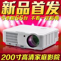 HD projector HD home projector home projector 1080p 3D projector era figure America