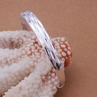 B189 925 sterling silver bangle bracelet, 925 silver fashion jewelry Bangle /apxajhea axwajpda