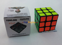 Retail 1pc/lot Moyu YJ GuanLong 3x3 Speed Cube for Mosaic Building Educational Toy White/Black Free Shipping