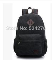 New 2014 Colorful Canvas Backpacks School Bag  Student Shoulder Bag FREE SHIPPING