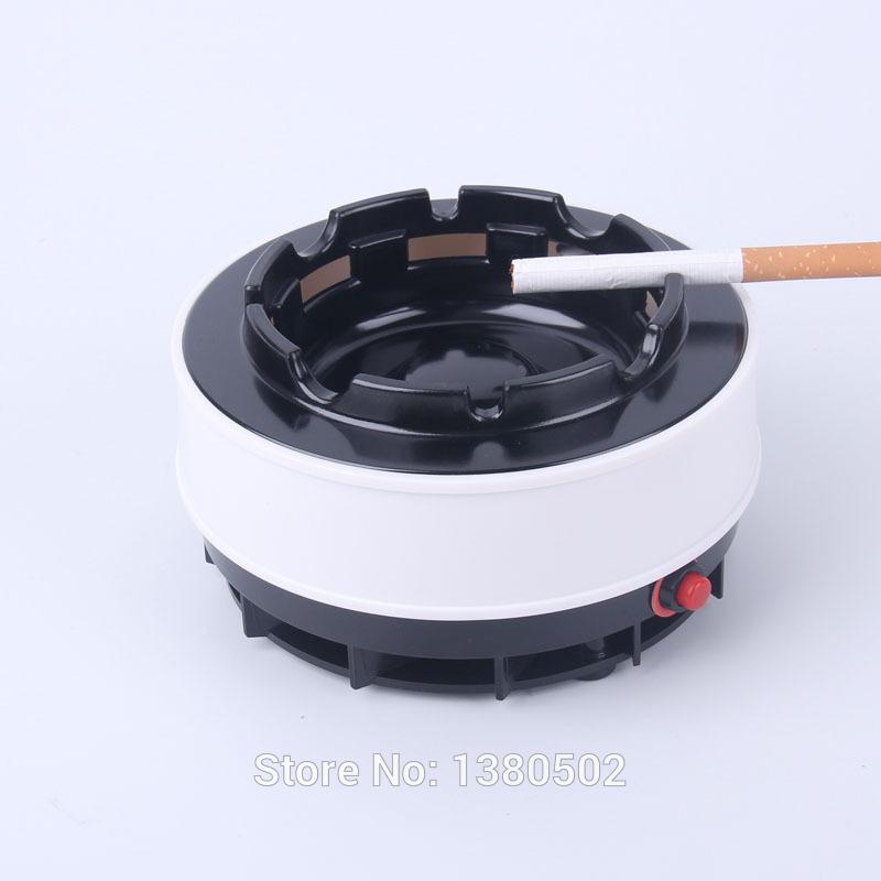 2015 Newest Fashion Smokeless Cigarette ,Cigar ,Pipe Ashtray Cenicero Automated Cleaning Cool Ashtray(China (Mainland))