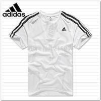 Summer menswear polyester fiber slip motion T-shirt short sleeved T-shirt tennis badminton