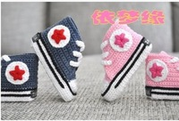 Baby yarn shoes toddler shoes baby soft sole shoes socks 131103 - 06