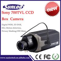 Top quality CCTV security box camera 700tvl sony ccd cctv camera