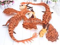 "How To Train Your Dragon 70cm 27.5"" Nightmare Zippleback Plush Stuffed Animal one-headed/two-headed Dragon doll"