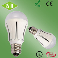 CE ROHS dimmable QP60 led light bulb e27 8w a19 smd5730 natural white