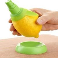 ABS plastic+Rubber Citrus Sprayer Fruit Lemon Lime Orange Mist Sprinkling Extractor Juice Spritzer Kitchen Tool