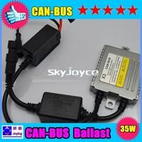Super version 35W EMC and warning canceller HID canbus xenon ballast X3A Error free hid xenon ballast 10 pcs per lot SQ1118
