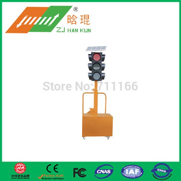 Mono-crystalline Solar Panel Portable solar traffic lights(China (Mainland))