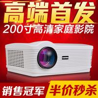 HD 3D projector home projector 5200 1280*800 10000:1 Lumens mini projector mini LED projector 1080P