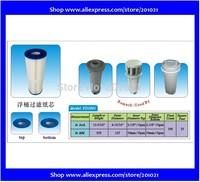 Filter Length 338mm, outer diameter and Inner diameter 55 mm 124mm Filter Langd 338mm, Yttre diameter 124mm och Inre 55mm