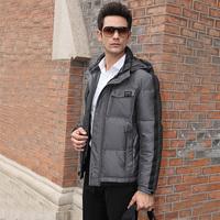 2014 new fashion men down jacket down coat free shiping